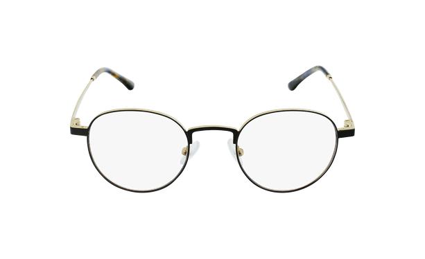 Lunettes de vue MAGIC 70 noir/doré - Vue de face