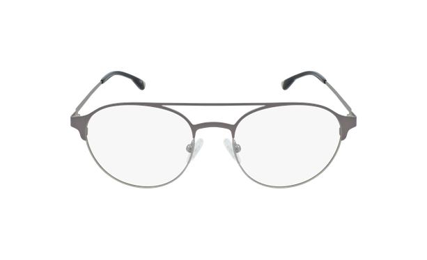 Lunettes de vue homme MAGIC 52 gris/argenté - Vue de face