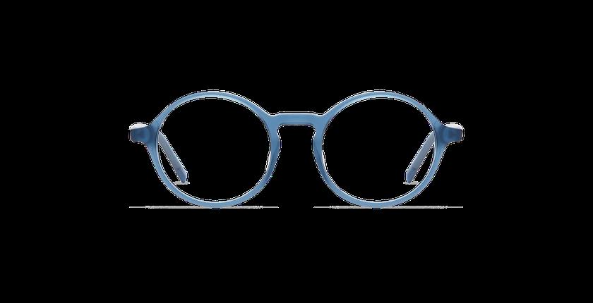 Lunettes de vue homme DIDIER bleu/gris - Vue de face