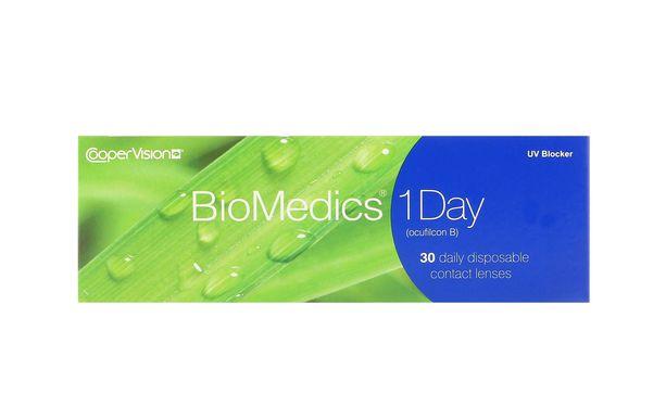 Lentilles de contact Biomedics® 1day 30L - Vue de face