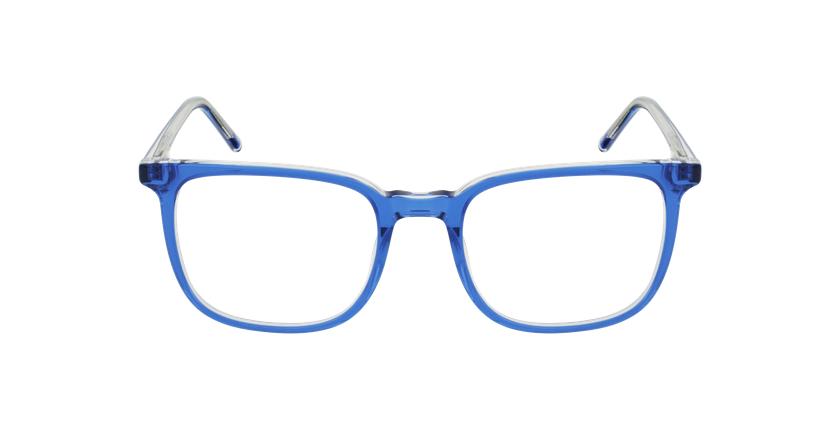 Lunettes de vue GASPARD bleu - Vue de face