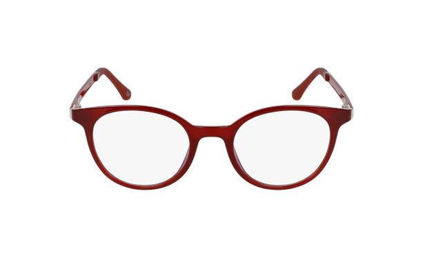 Lunettes de vue femme MAGIC 36 rouge - Vue de face