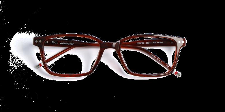 Lunettes de vue homme DIBETOU marron