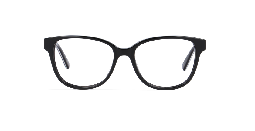Lunettes de vue femme LAORA noir - Vue de face