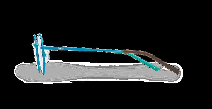 Lunettes de vue enfant LOIS bleu/noir - Vue de côté