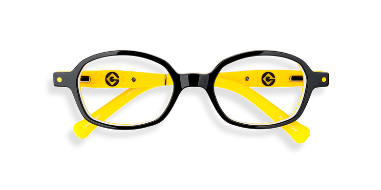 Lunettes de vue enfant CARL2 noir/jaune