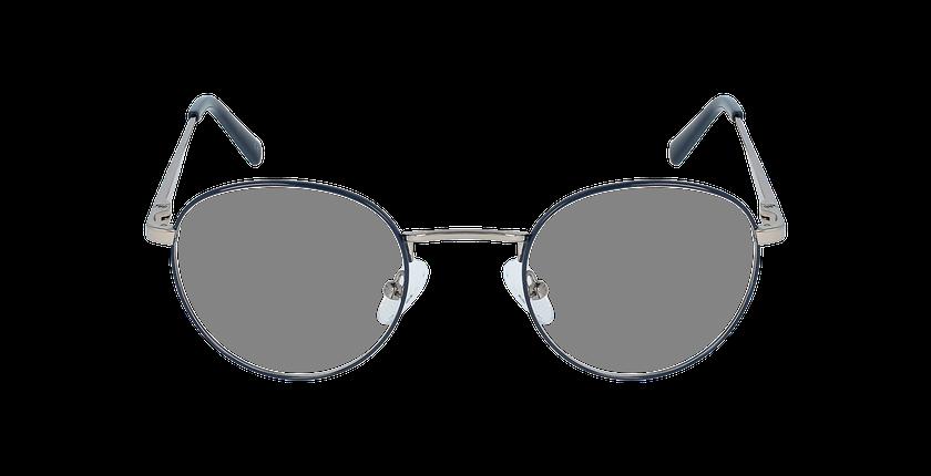 Lunettes de vue homme MARIN bleu/gris - Vue de face