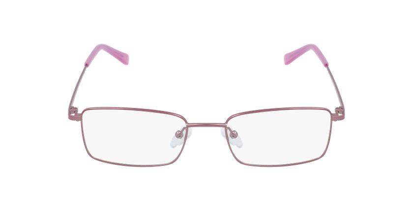 Lunettes de vue femme RZERO7 rose - Vue de face