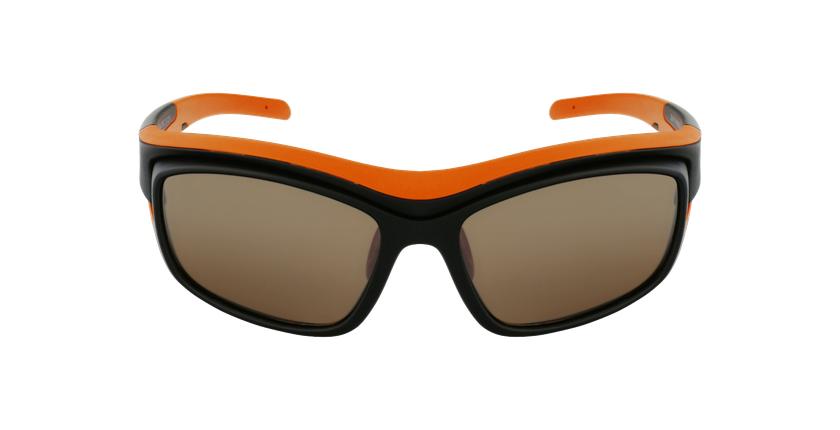 Lunettes de soleil Piment noir/orange - Vue de face