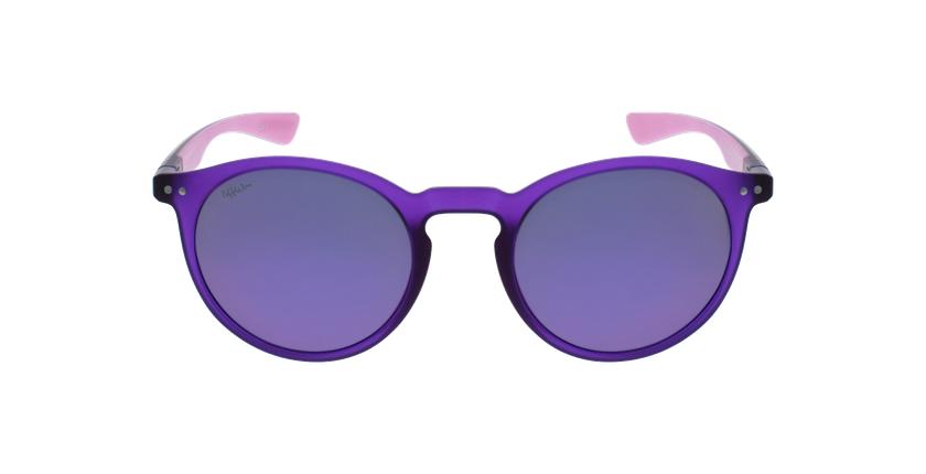 Lunettes de soleil femme KESSY POLARIZED violet/rose - Vue de face