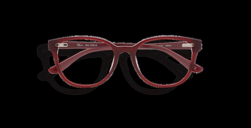 Lunettes de vue femme GAELLE rouge - Vue de face