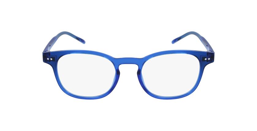 Lunettes de vue enfant MAGIC 50 bleu - Vue de face