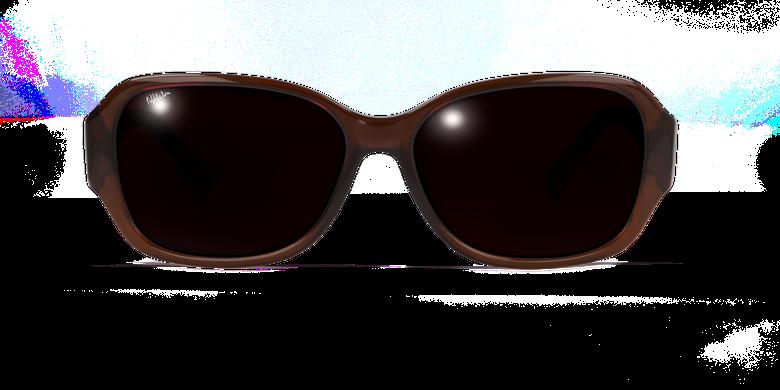 Lunettes de soleil femme EVE marron