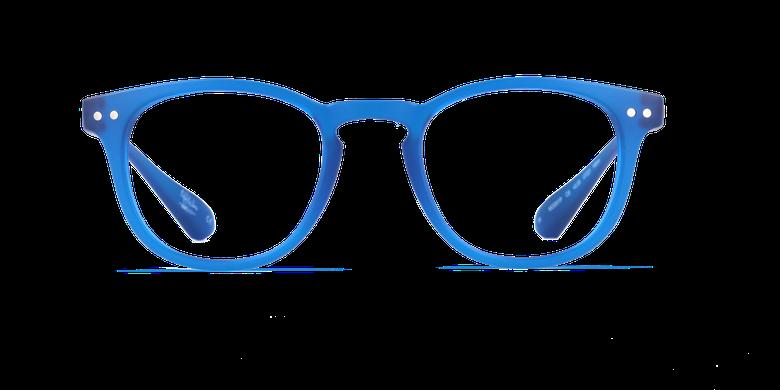 Lunettes de vue BLUE BLOCK MIXTE bleuVue de face
