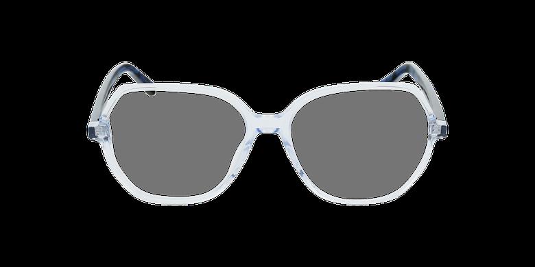 Lunettes de vue femme CONSTANCE bleuVue de face
