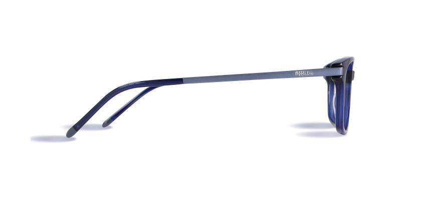 Lunettes de vue homme RODIN bleu - Vue de côté
