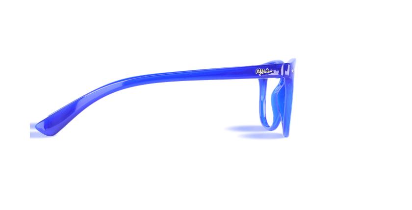 Lunettes de vue homme BLUE BLOCK HOMME bleu - Vue de côté