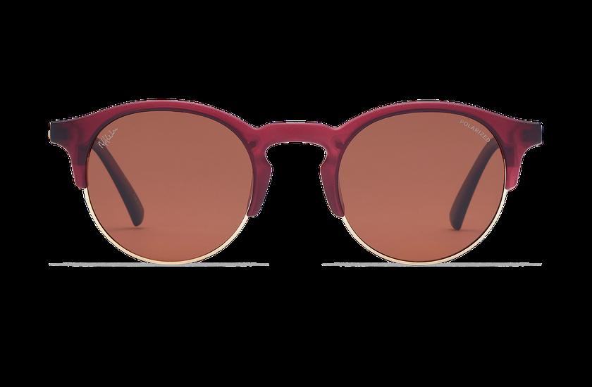 Lunettes de soleil femme LATINA rouge - danio.store.product.image_view_face