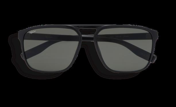 Lunettes de soleil homme ASTURIAS noir - danio.store.product.image_view_face