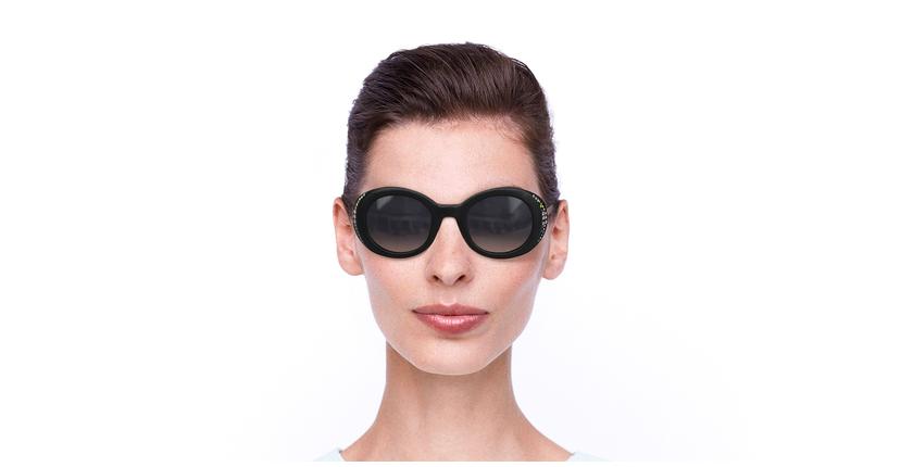 Lunettes de soleil femme SK0281 noir - Vue de face