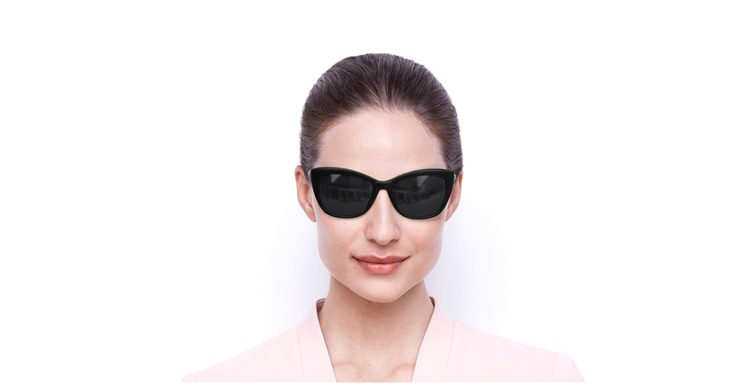 Lunettes de soleil femme SK0262 noir - Vue de face