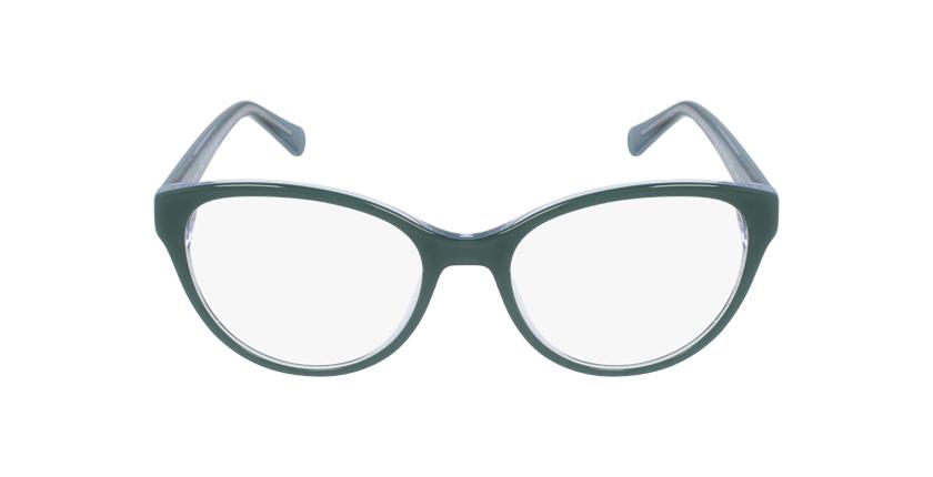 Lunettes de vue femme OAF20521 vert - Vue de face