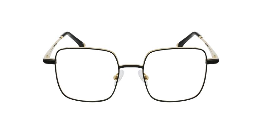 Lunettes de vue femme MAGIC 94 noir/doré - Vue de face