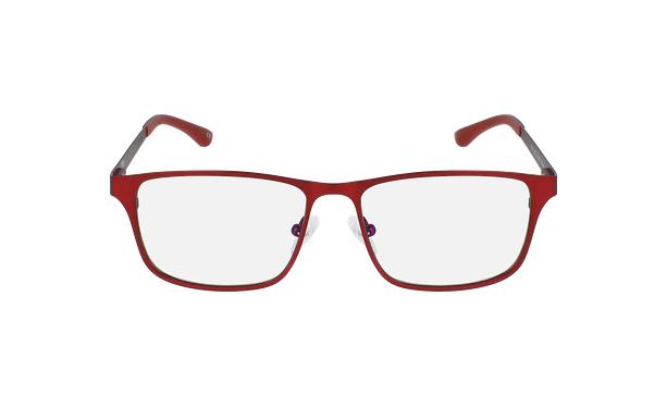 Lunettes de vue homme MAGIC 41 BLUEBLOCK rouge - Vue de face