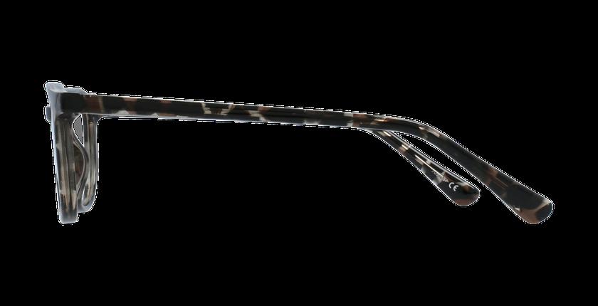 Lunettes de vue enfant RZERO22 écaille/noir - Vue de côté