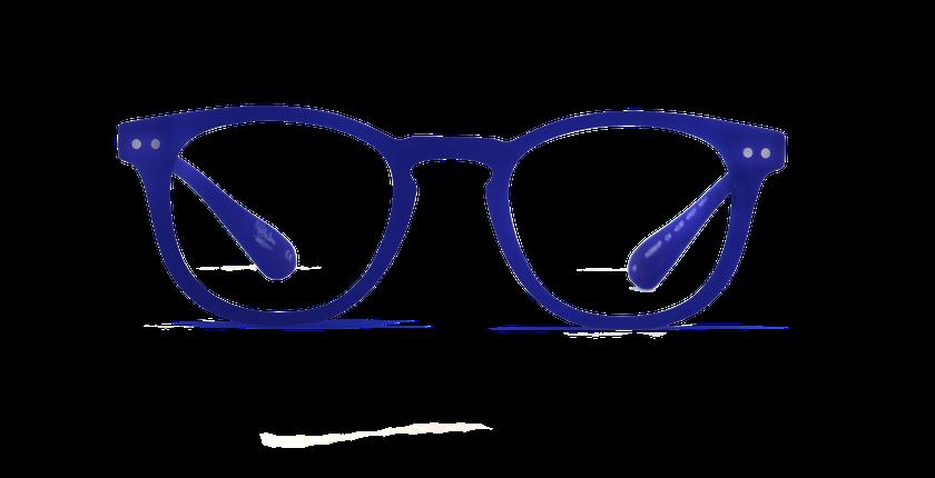 Lunettes de vue BLUE BLOCK MIXTE bleu - Vue de face