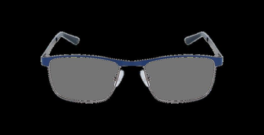 Lunettes de vue homme GUIDO bleu/argenté - Vue de face