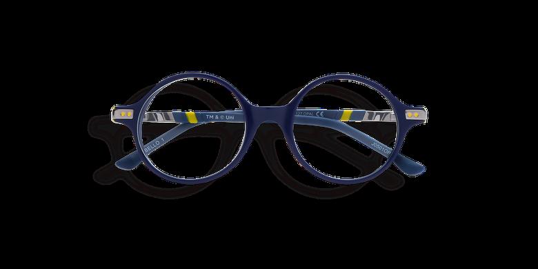 Lunettes de vue enfant BELLO1 bleu/jaune