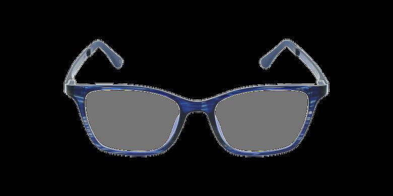 Lunettes de vue femme MAGIC 60 bleu/violetVue de face