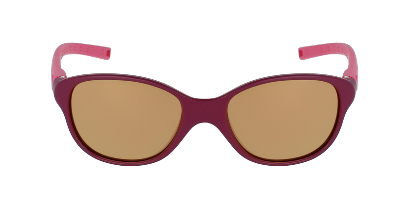 Lunettes de soleil enfant ROMY violet - Vue de face