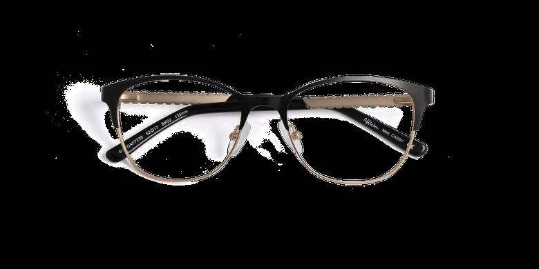 Lunettes de vue femme CASSY noir/blanc
