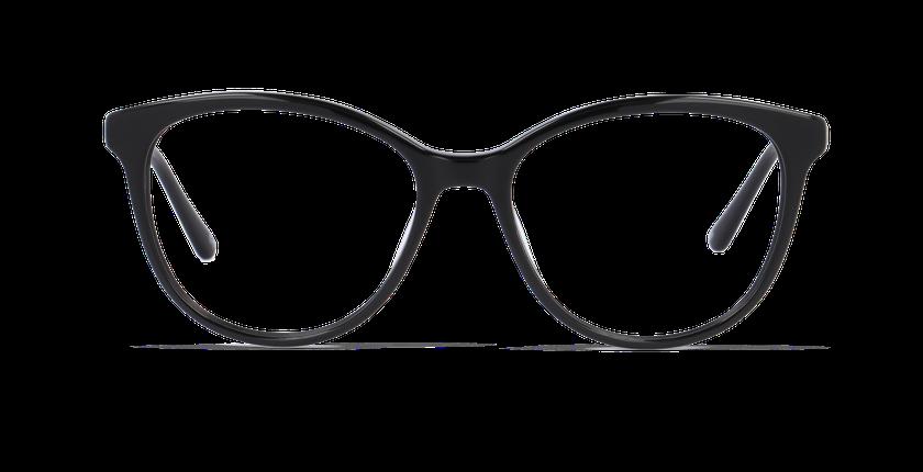 Lunettes de vue femme CALISTA noir - Vue de face