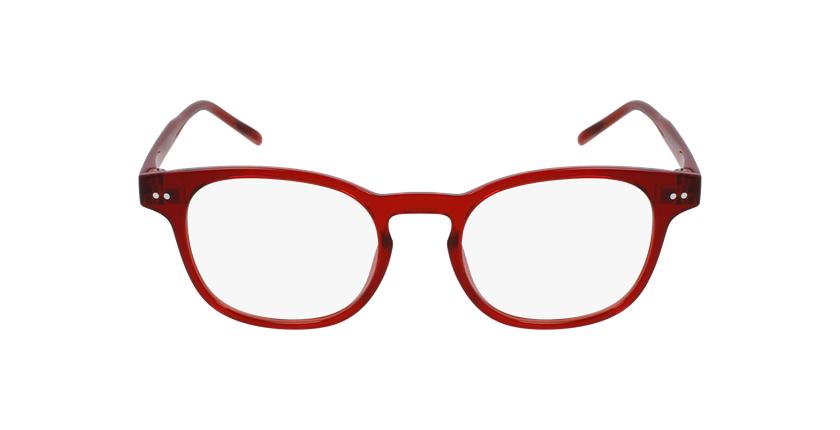 Lunettes de vue enfant MAGIC 50 rouge - Vue de face