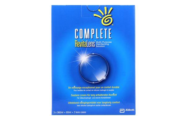 Complete Revitalens 3x360ml - Vue de face