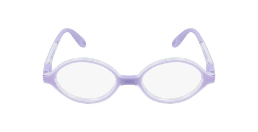 Lunettes de vue enfant RFOB1 violet - Vue de face
