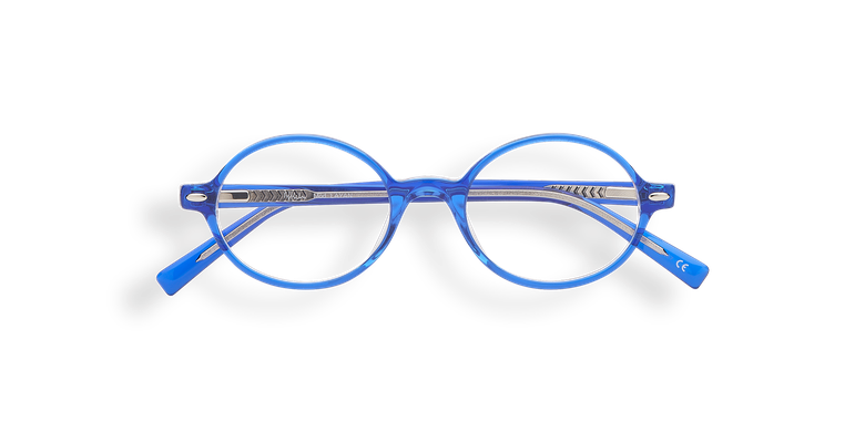 Lunettes de vue enfant LAYAN écaille/bleu