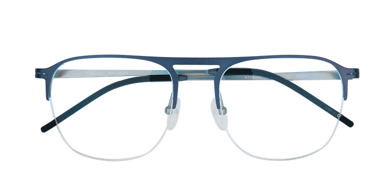 Lunettes de vue homme NEON bleu/argenté