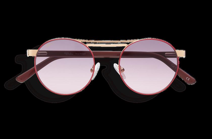 Lunettes de soleil femme ROMY rose/doré - danio.store.product.image_view_face