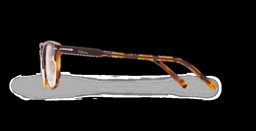 Lunettes de vue homme BELLIGNAT marron/écaille - Vue de côté