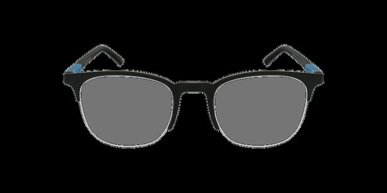 Lunettes de vue homme TRISTAN noir/turquoiseVue de face