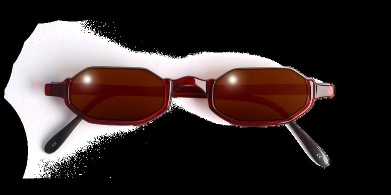 Lunettes de vue FT1S rouge/écaille