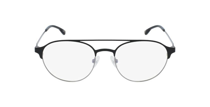 Lunettes de vue homme MAGIC 52 noir/gris - Vue de face