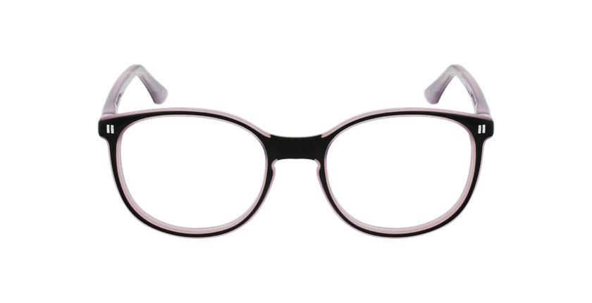 Lunettes de vue enfant REFORM TEENAGER5 noir/violet - Vue de face