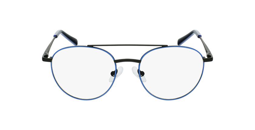 Lunettes de vue enfant NINO bleu/noir - Vue de face