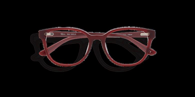 Lunettes de vue femme GAELLE rouge