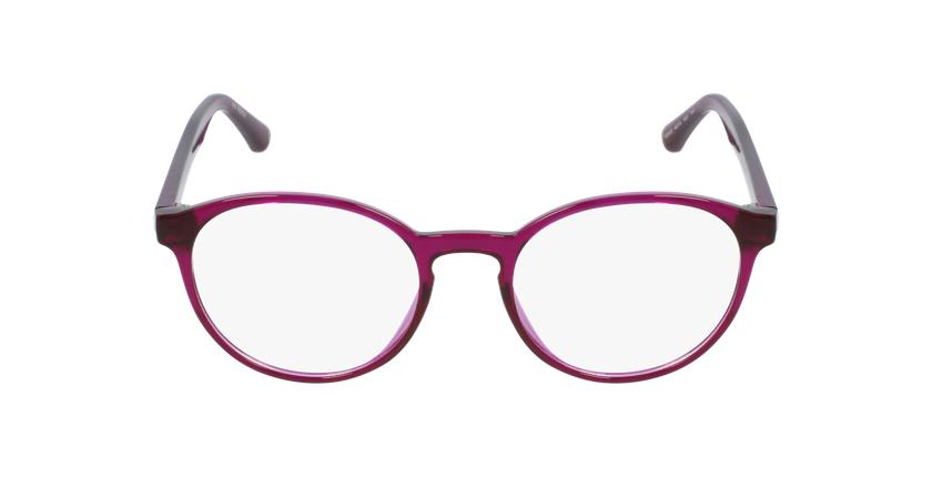 Lunettes de vue femme RZERO3 violet - Vue de face